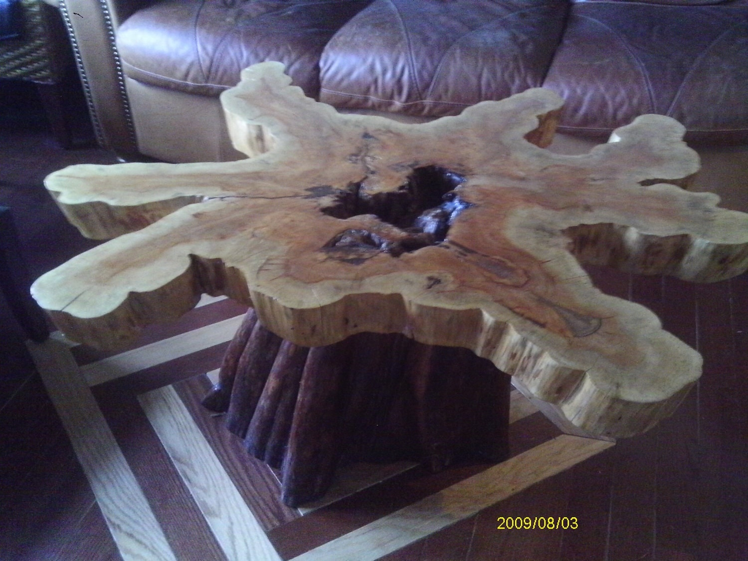 Cypress Coffee Table Handcrafted By Koipottery On Etsy