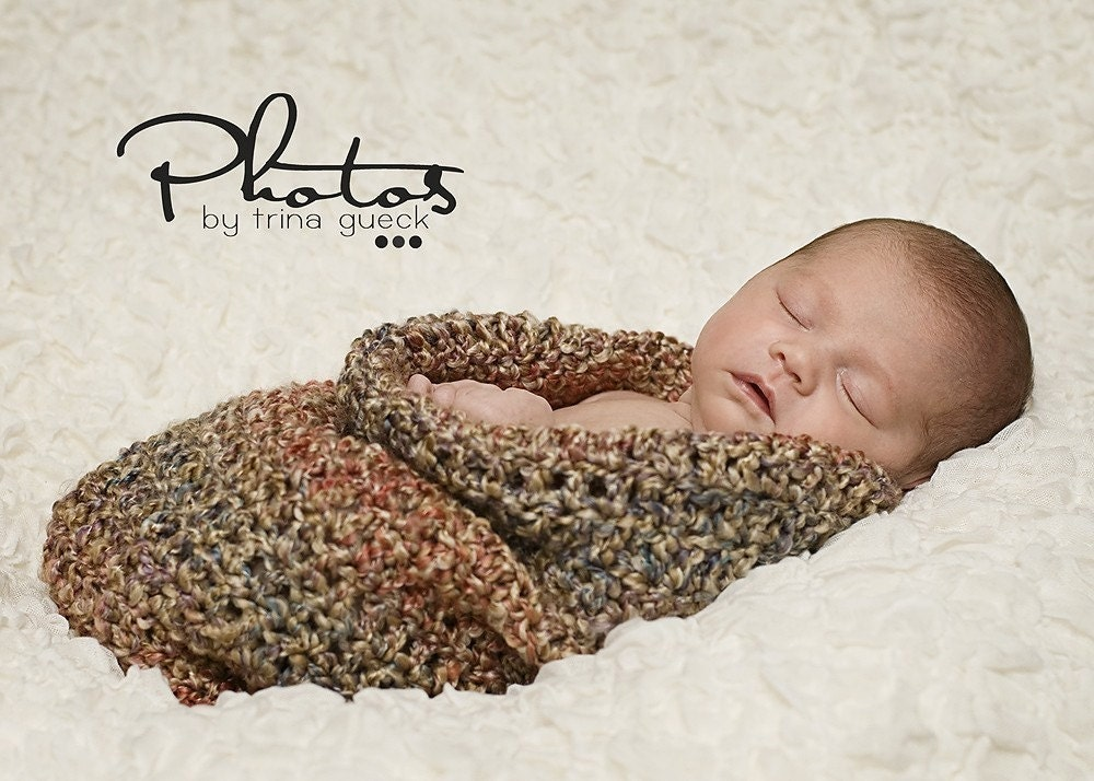 BABY COCOON - EASY PATTERN - PDF Crochet Pattern - SELL WHAT YOU MAKE