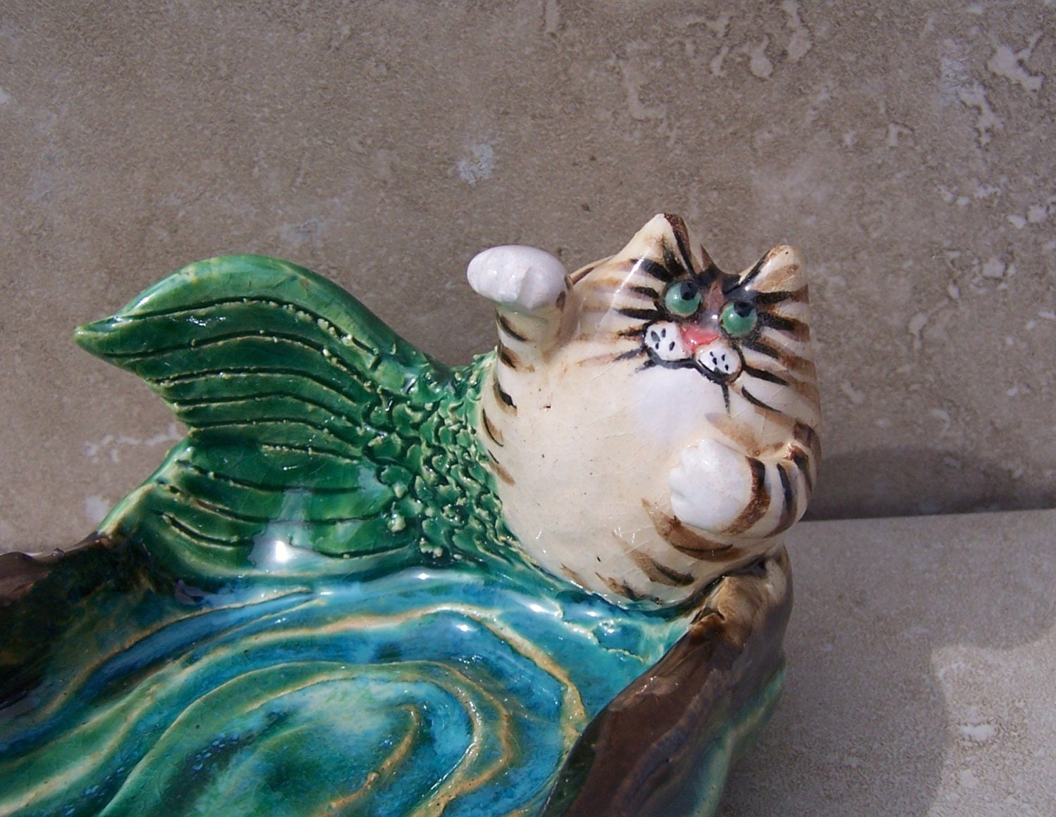 Catfish Soap Dish