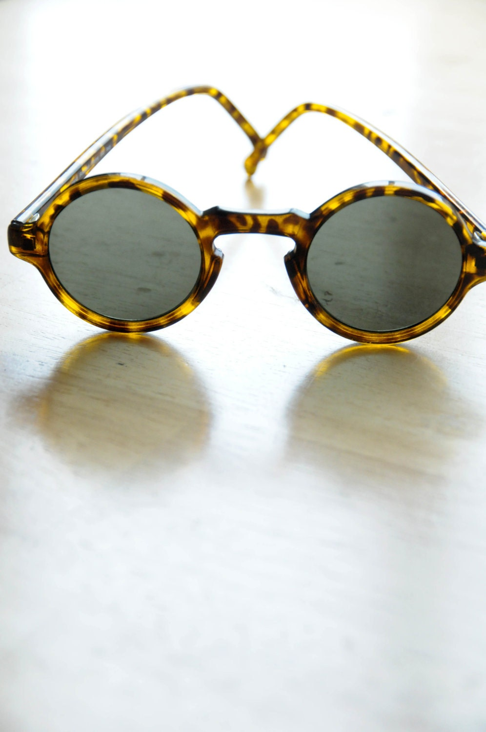 Vintage Tortoise Shell Hipster Sunglasses Atomic Novelty Party Day Summer Men Women