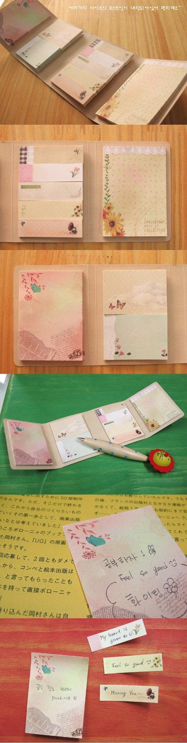flower Cover Memopad (80page)
