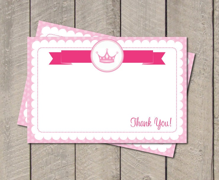 pink princess crown template