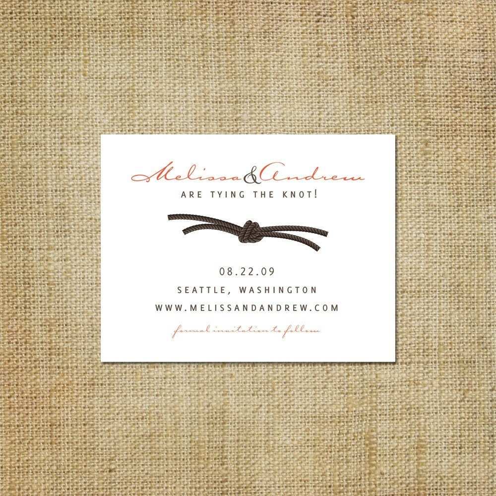 Etsy Wedding: Email Save-the-date Sampler