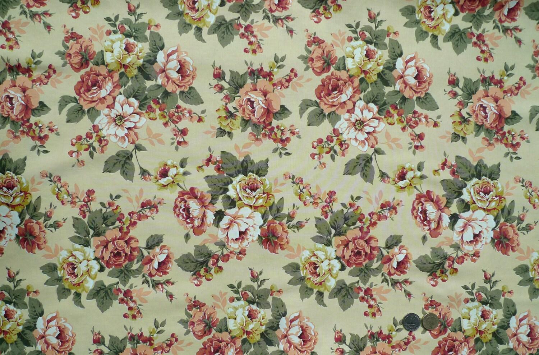 Vintage Print Fabric R...