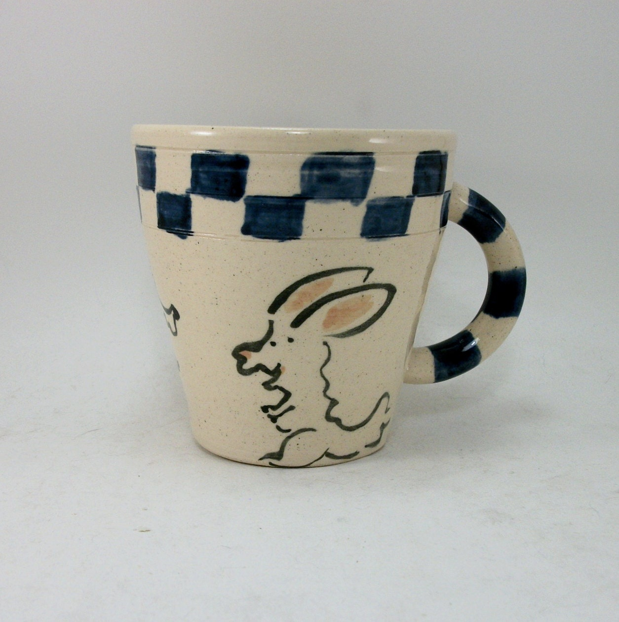 bunny and beagle mug