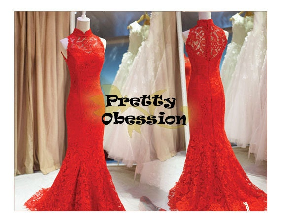 Red Wedding Dress Bridesmaids Colours Red Lace Wedding Dress Red