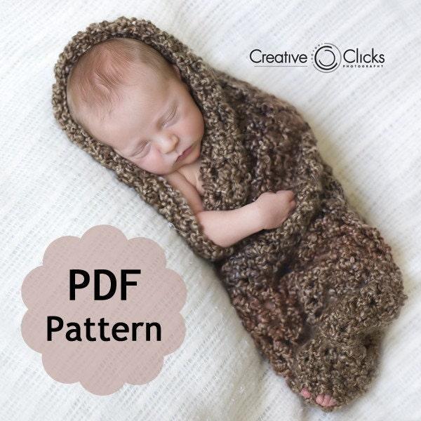 Newborn Hooded Cocoon Crochet Pattern Free Pakbit For