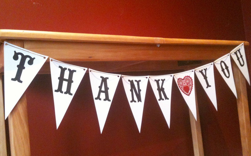 Sassy image intended for thank you banner printable