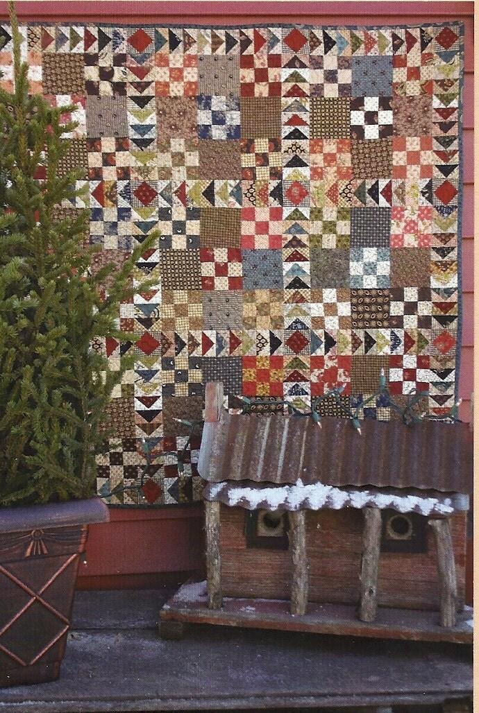 Primitive Folk Art Quilt Pattern Best Of All : Primitive Folk Art Quilt Pattern: CIVIL UNREST by PrimFolkArtShop