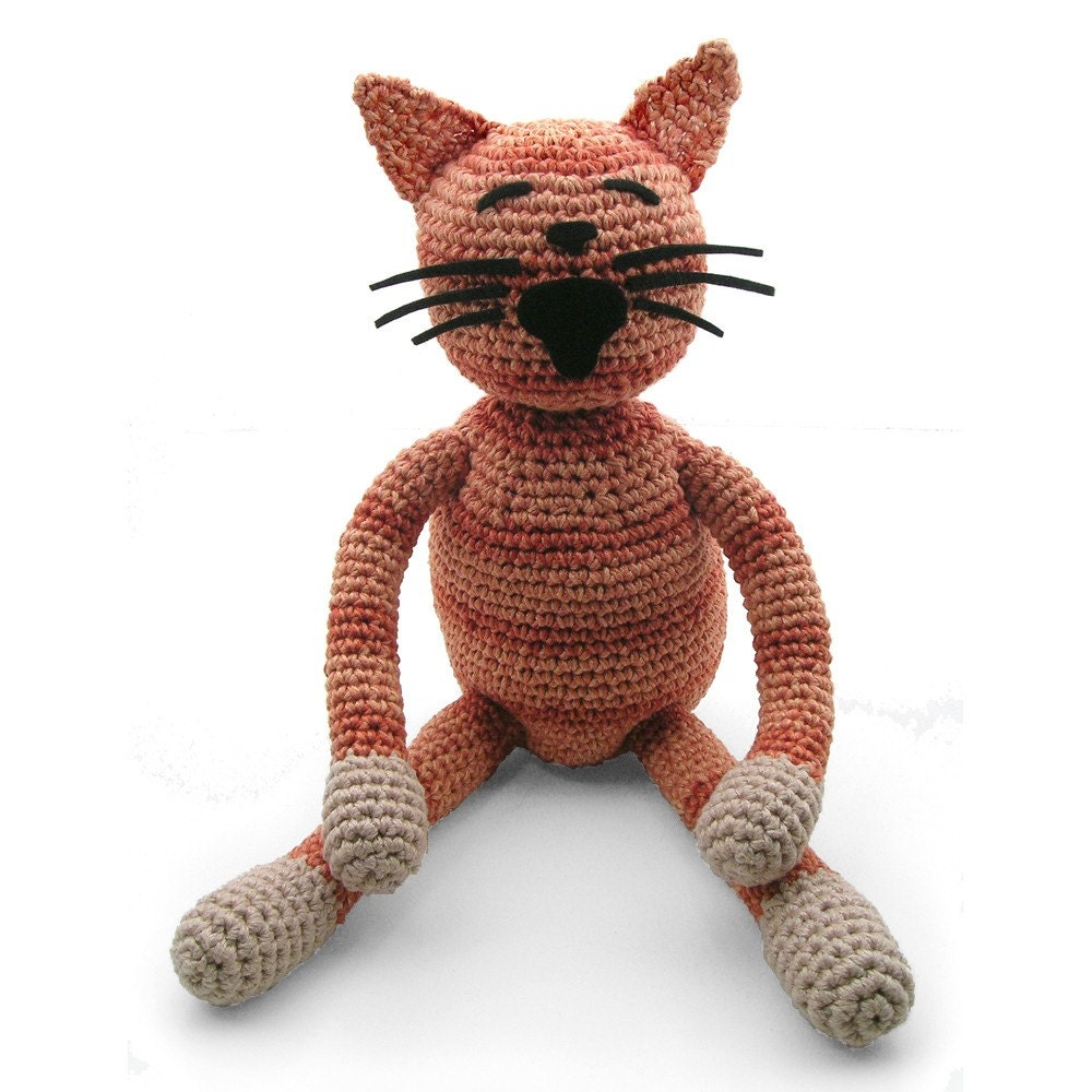 custom order your own crocheted cat