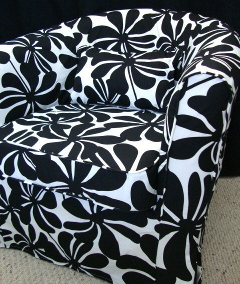 Gumtree Ikea Drawers London ~ IKEA Ektorp Tullsta Custom Slipcover in Black & by FreshKnesting