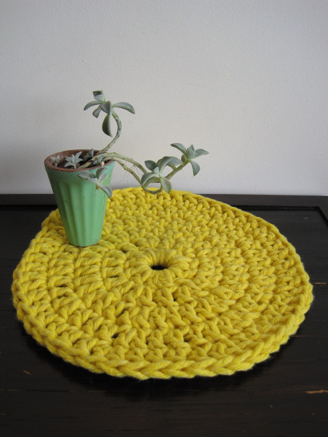 Sunshine Yellow Place-Rug