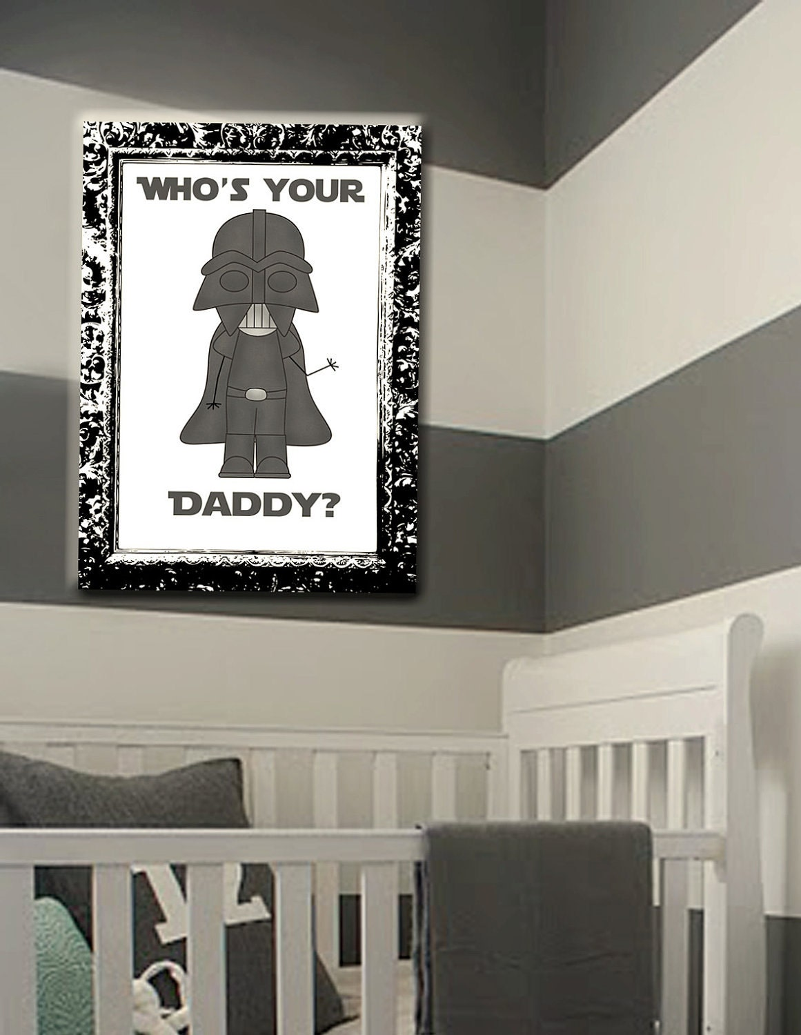 Items similar to star wars kids room decor wall art for Star wars kids room decor