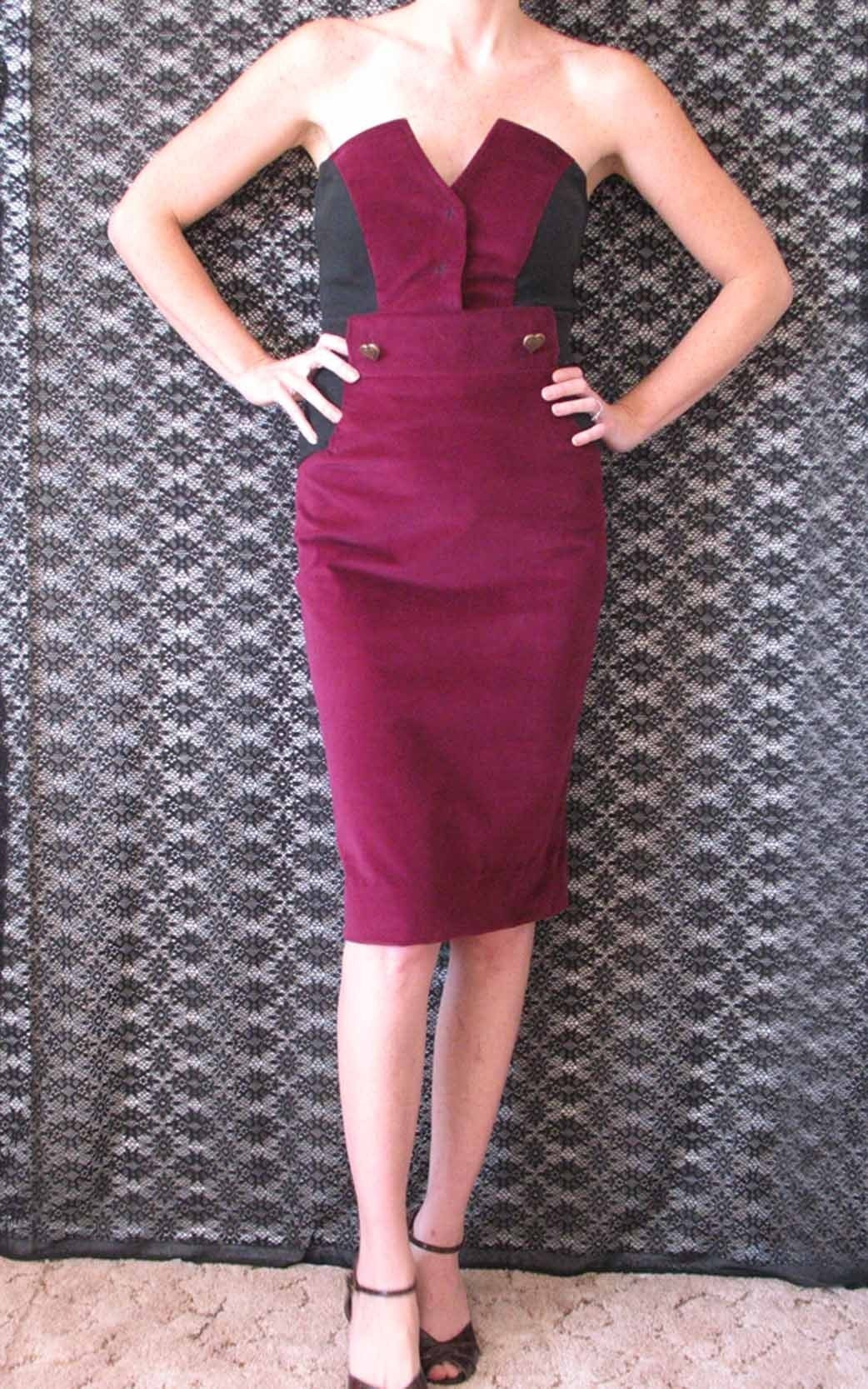 Secretary Pencil Skirt