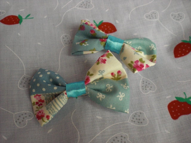 Two Patchwork Bows