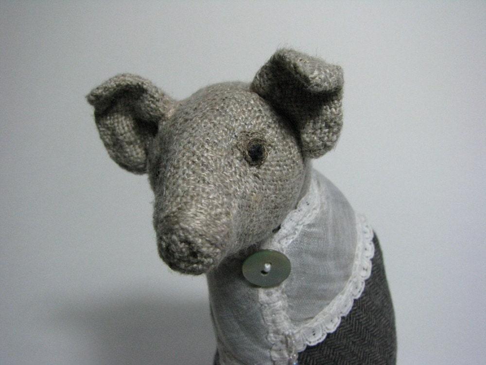 Linen pig