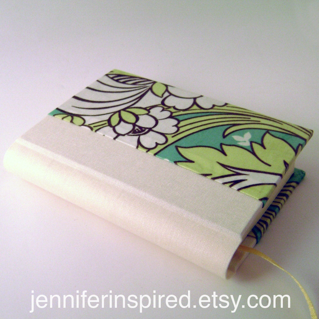 Handmade Daily Planner with Amy Butler Laminated Cotton Cover