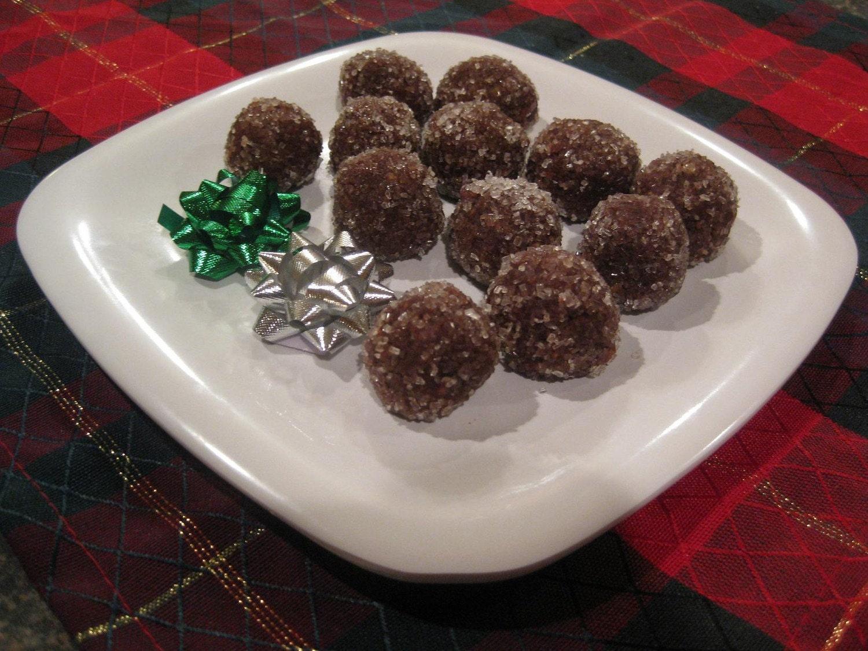 Chocolate Wine Balls