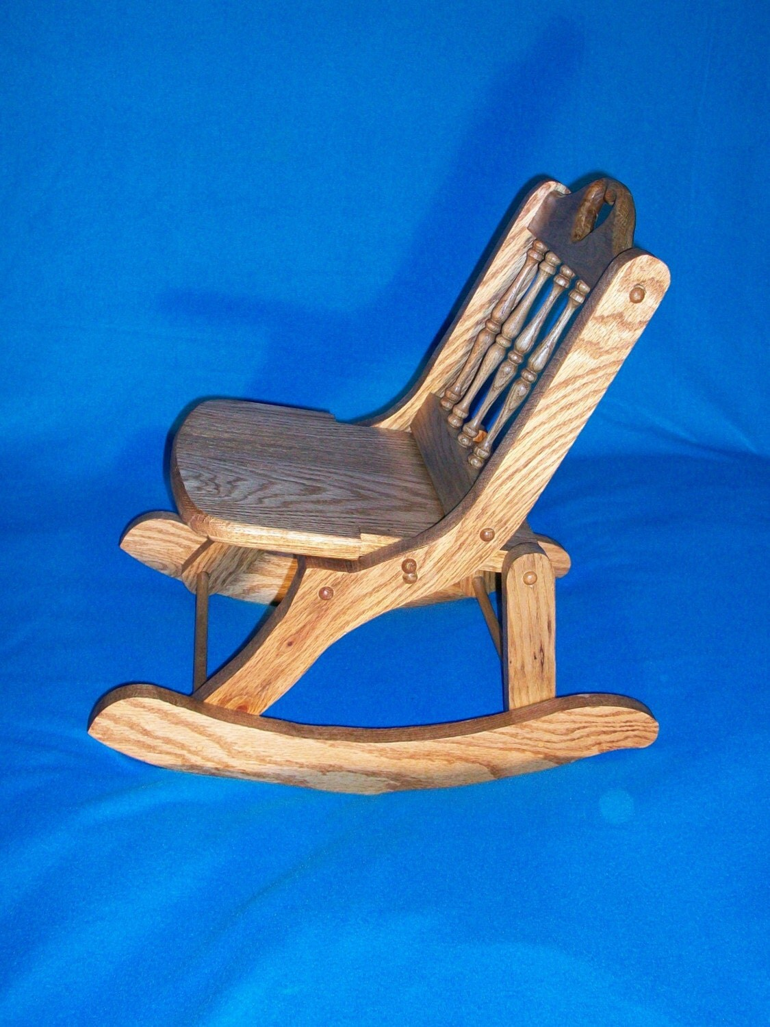 Folding Child s Rocking Chair by bkcrafters on Etsy