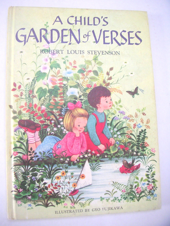 Vintage Children 39 S Book A Child 39 S Garden Of Verses By Qvintage