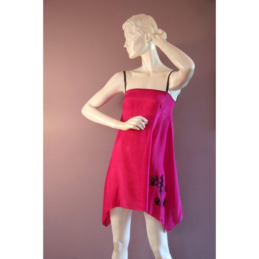 Sandmaiden Mermaid silk A line chemise - full size range