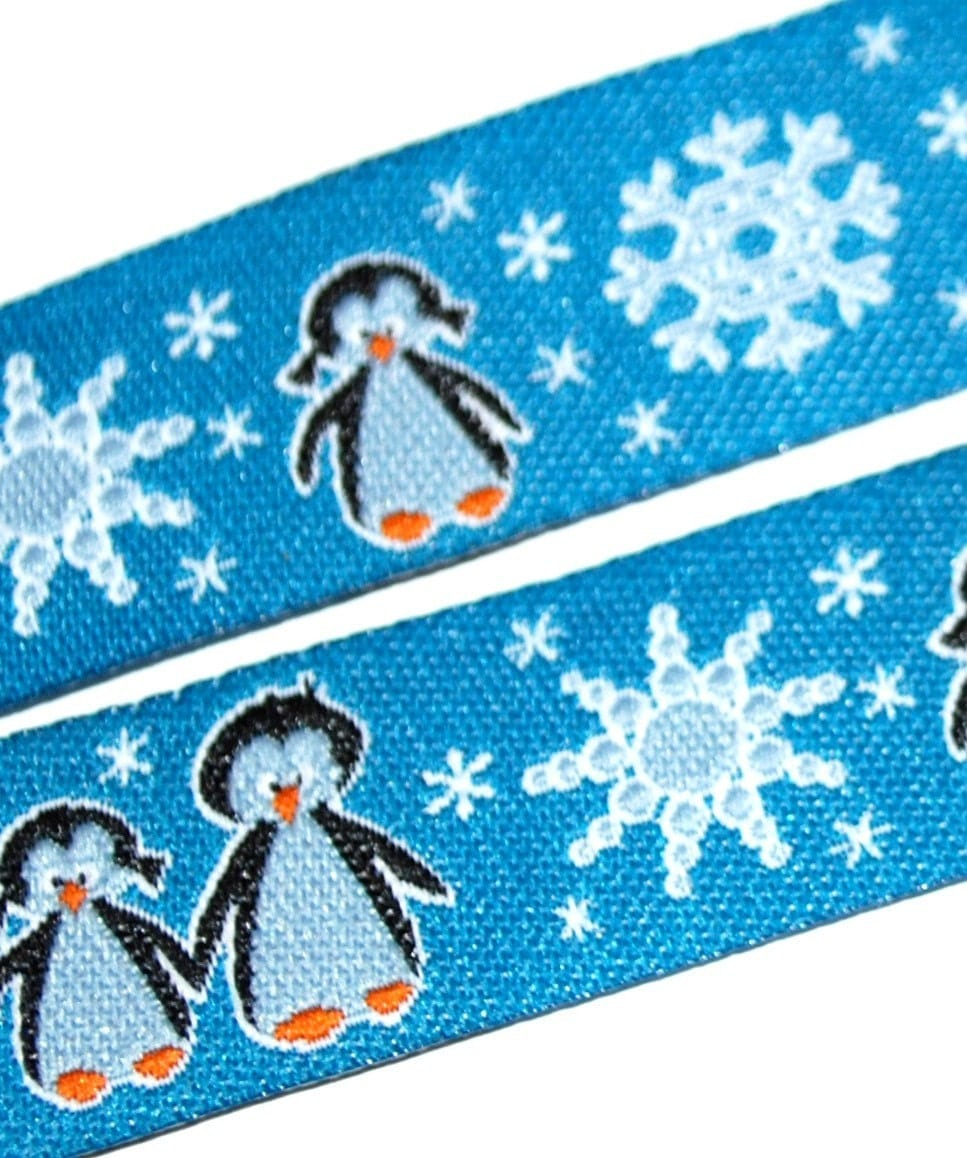 Winter may come - Ribbon Farbenmix Germany 1 yard. From Immertreu