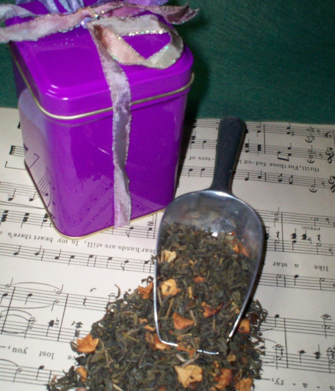 Liber-TEAS Green Apple Flavored Organic Green Tea Blend