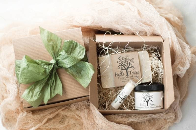 Gift Box - Soap, Lotion, and Lip Balm
