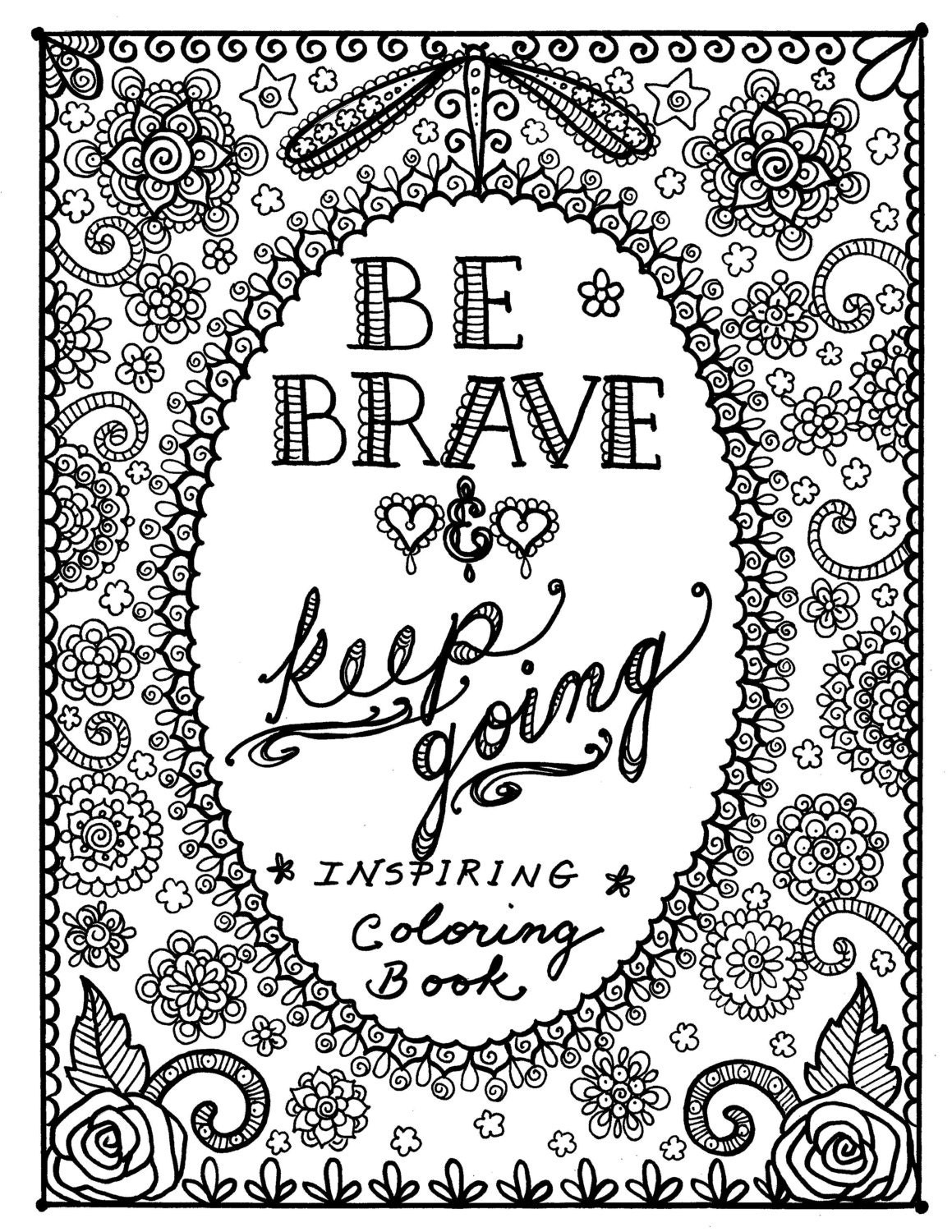 Motivational quotes coloring pages quotesgram for Positive quotes coloring pages