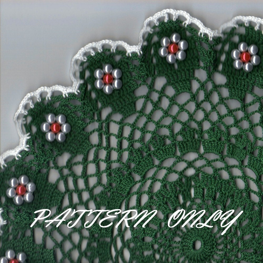 Doilies Doily Beaded | Knitting Patterns