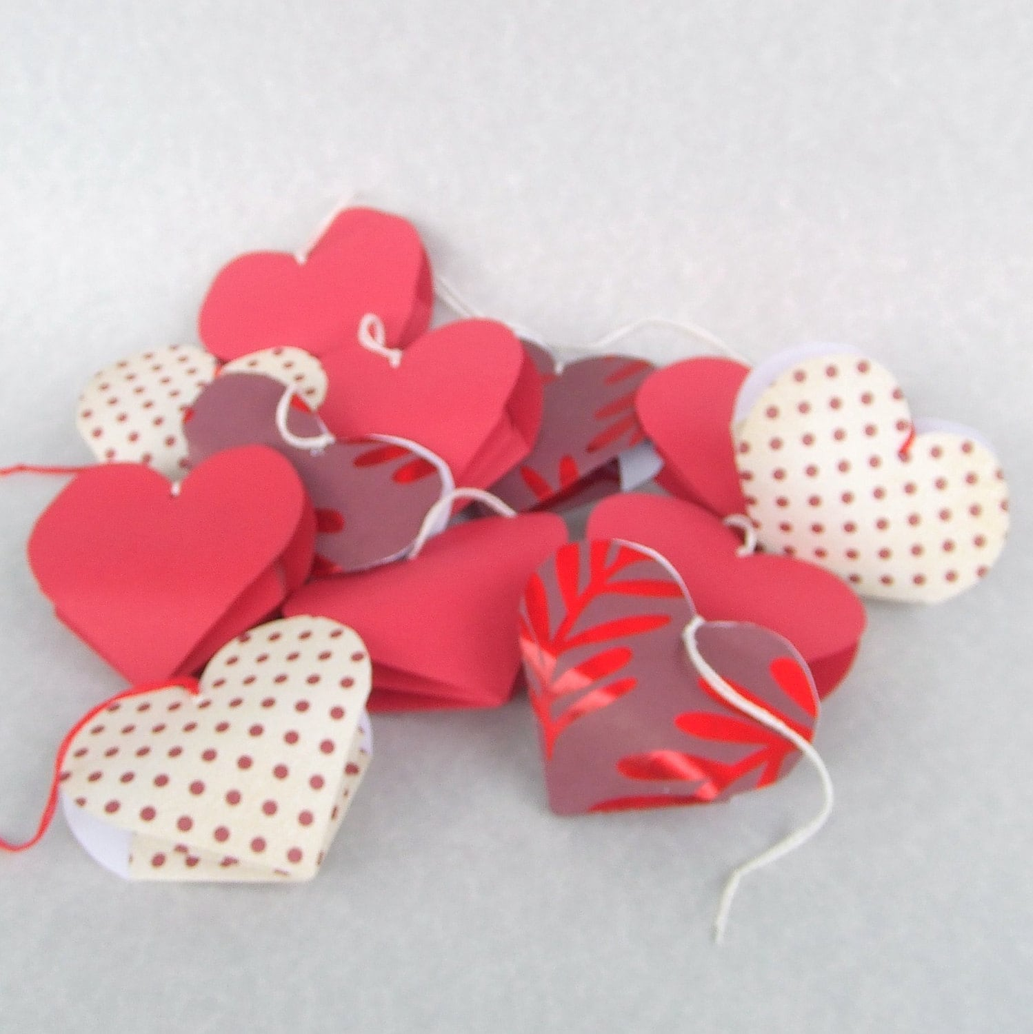 Valentines Day Origami Heart Box Quotes