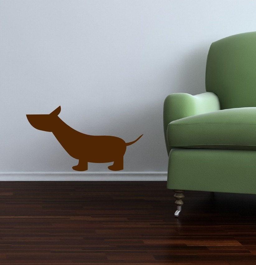Dog Vinyl Wall Decal Sticker Graphics - Item 143