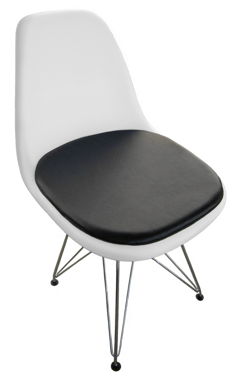 Cushion for eames molded plastic side chair by studiocityloft for Eames coussin