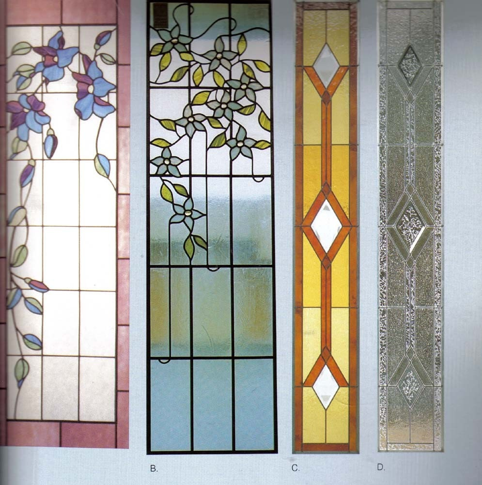 beautiful pieces of stained glass