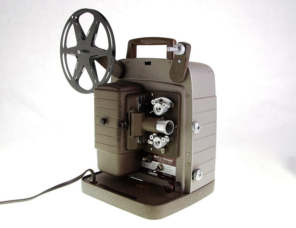 Vintage Movie Projector 8mm, Bell and Howell - 1960s