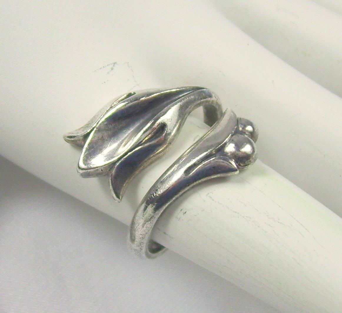vintage avon sterling silver ring by revingvintage