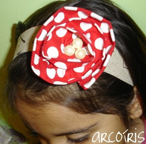 3-in-1 Headband, Hairclip and Brooch Help Japan Donation Drive