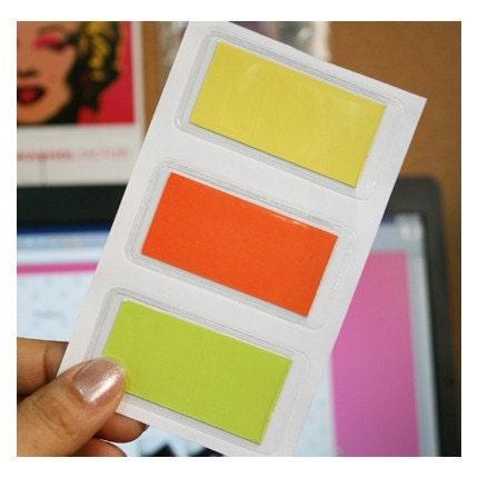 Transperent Name Pocket Sticker