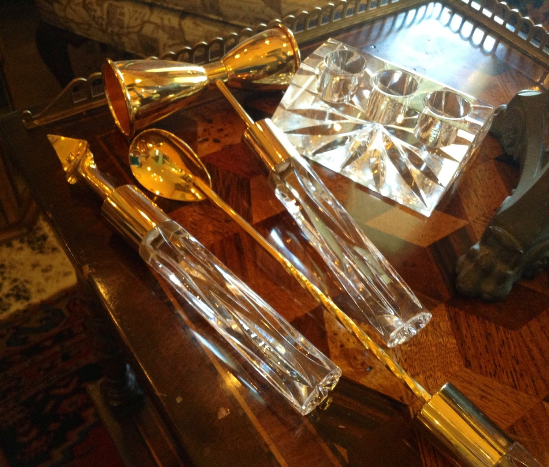 Gold bar accessories