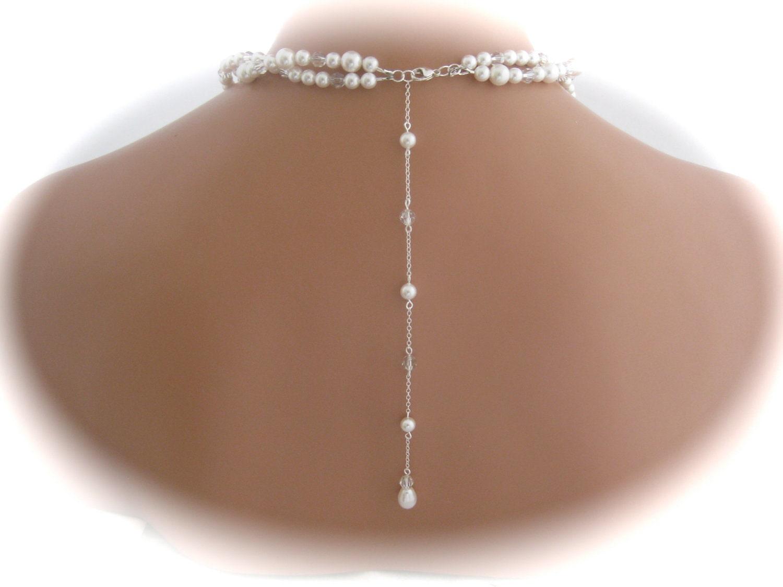 backdrop necklace collier dans le dos mode nuptiale forum. Black Bedroom Furniture Sets. Home Design Ideas