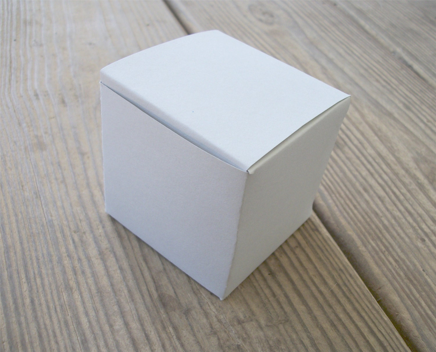 Large Printable Cube Box Template All Occasion Favor Box PDF PNG and ...