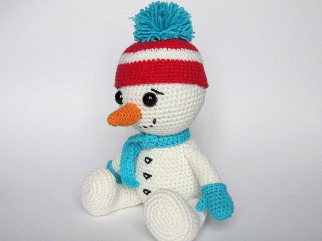 Snowman Amigurumi Crochet Pattern / PDF e-Book / by ...