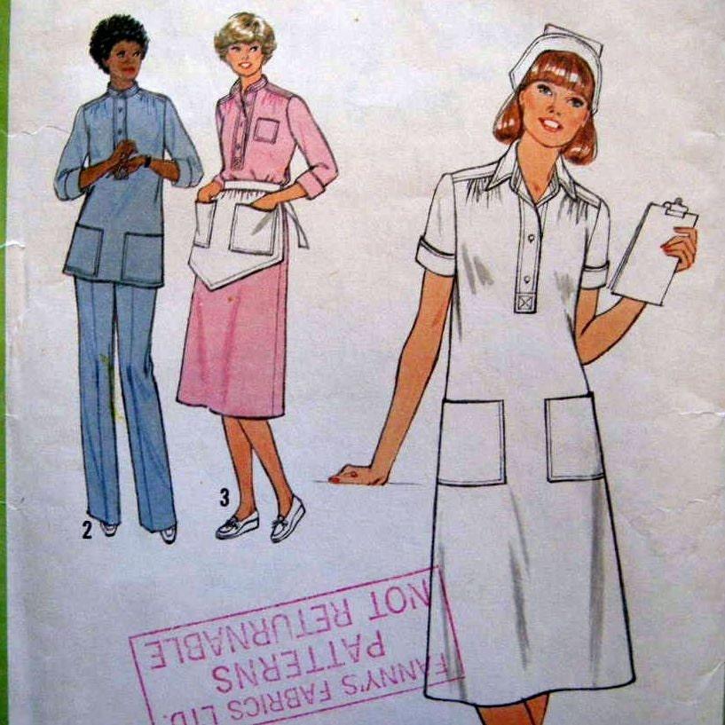 Nursing Uniform Pattern 77