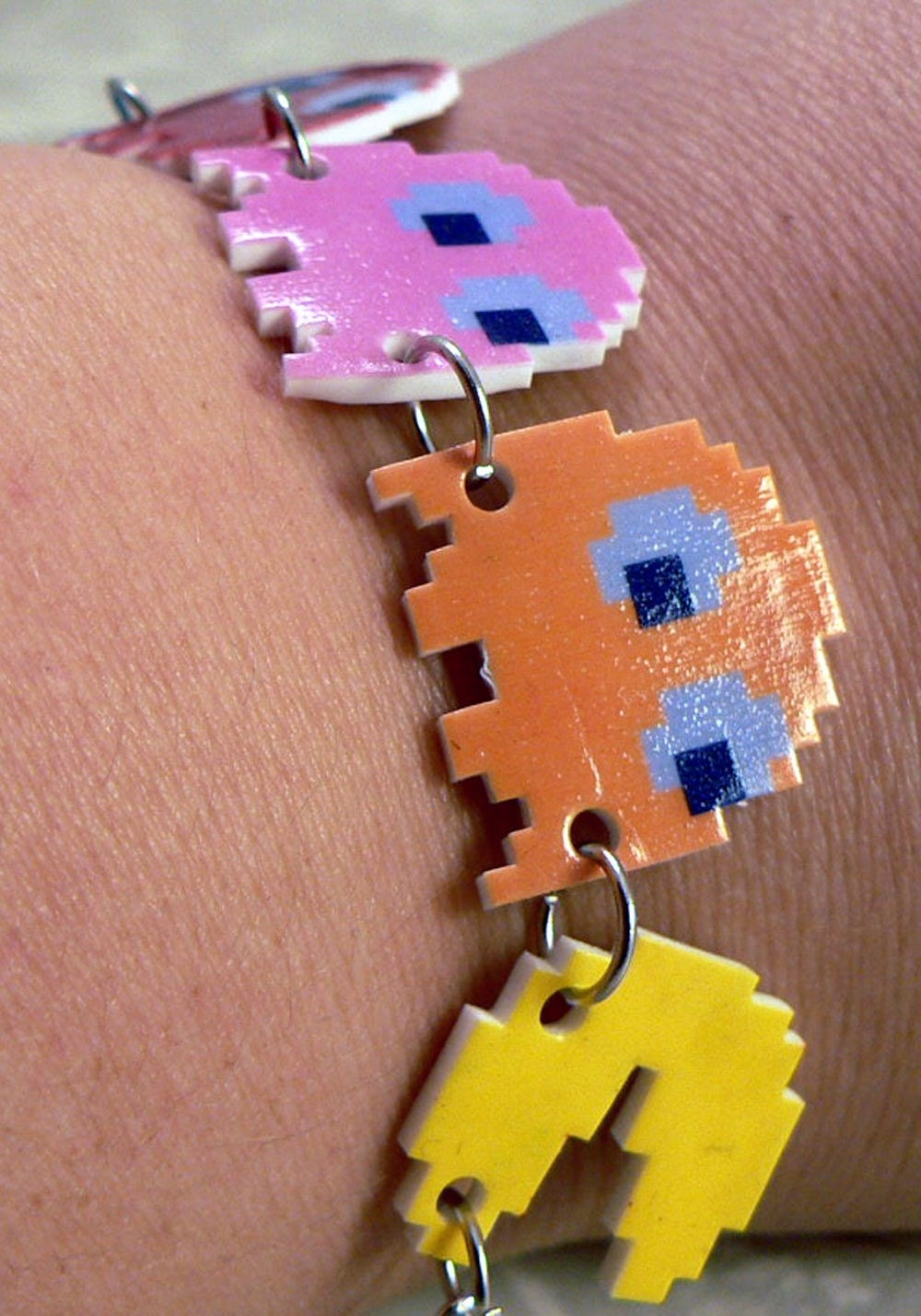 Etsy :: the chase - a pac-man bracelet from etsy.com