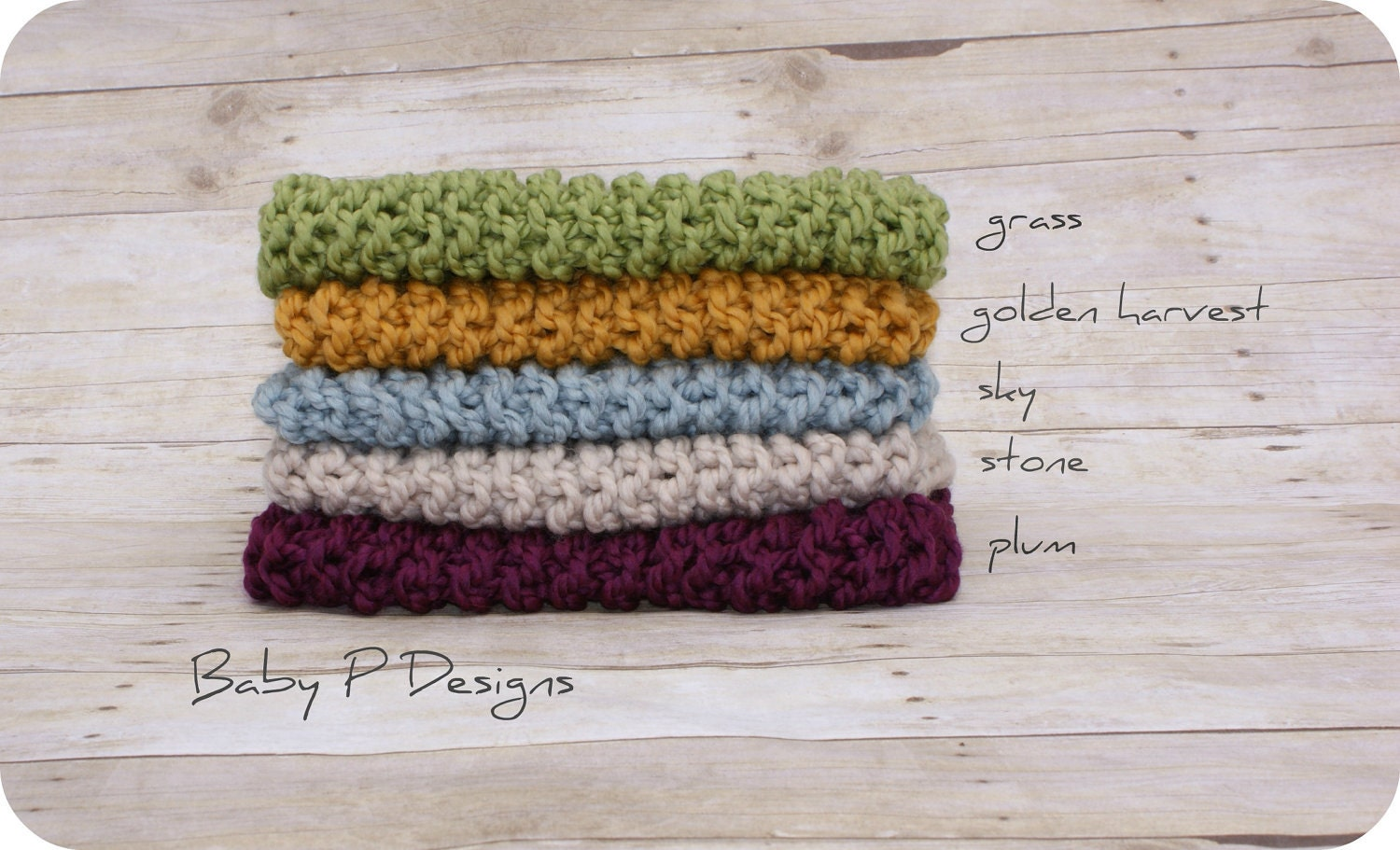 chunky mini-blanket / wrap - CHOOSE YOUR COLOUR