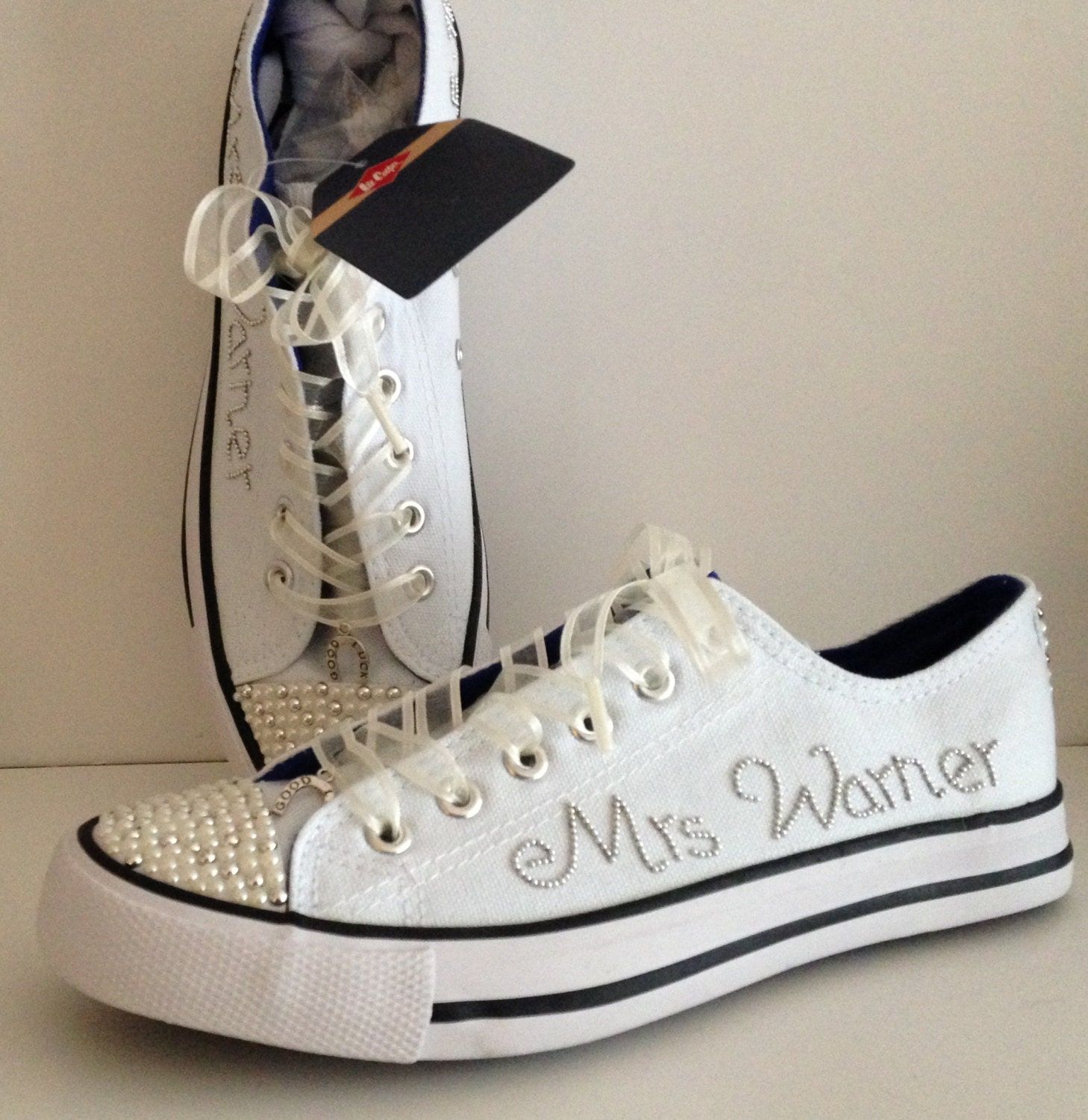 Wedding Trainers  Wedding Sneakers  Wedding Shoes  Wedding Accessories  Occasion Shoes  Bridal Footwear  Personalised  Bride Trainers