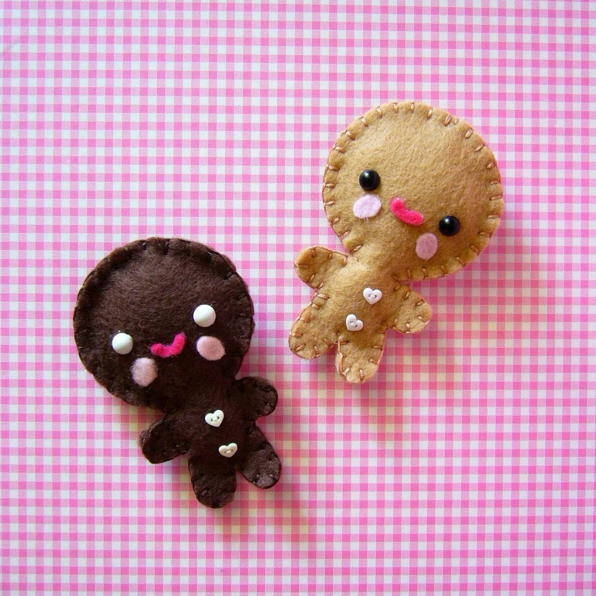 2 cookie ornaments