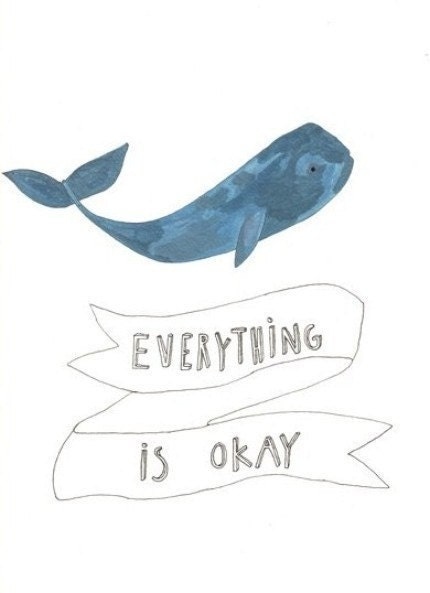 everything is okay print