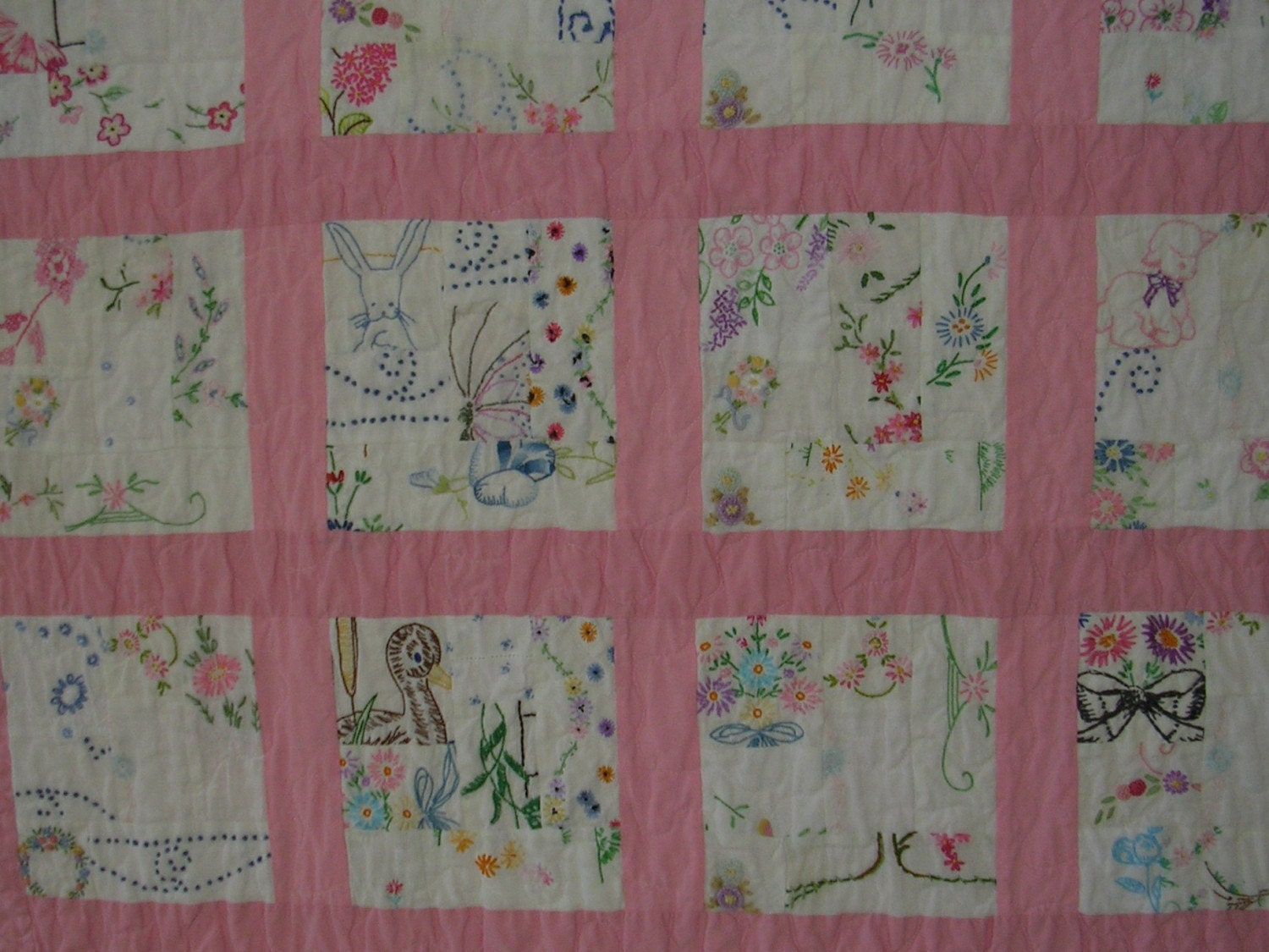 Baby Embroidery Quilt 171 Embroidery Amp Origami