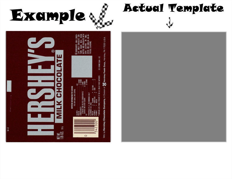 Candy Bar Templates Hershey Bar Pictures to Pin – Candy Bar Wrapper Template